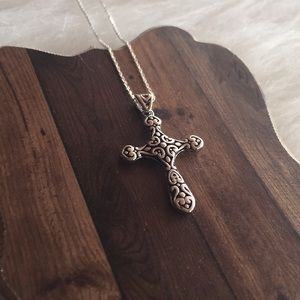 Christian jewelry cross necklace